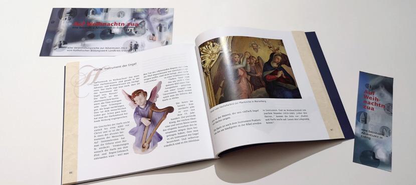 """KBW Adventsbuch """"Auf Weihnachtn zua"""""""